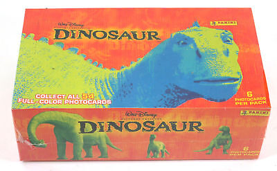2000 Panini Disney's Dinosaur Photo Card Box (24 Packs)