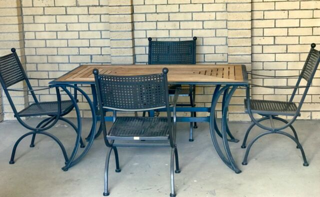 Finlay Amp Smith 5 Piece Outdoor Dining Setting Outdoor