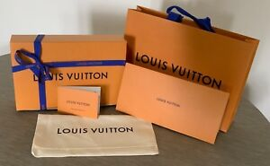f60aa2a32794 Louis Vuitton Gift Box with ribbon