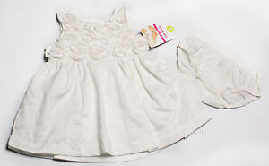 NWT Girls Dress Birthday Flower Girl Party NEW Easter 3 6 9 12 18 24m 2T 3T 4T