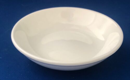 "Air China Airlines 4"" Sauce Dish - Plain White"