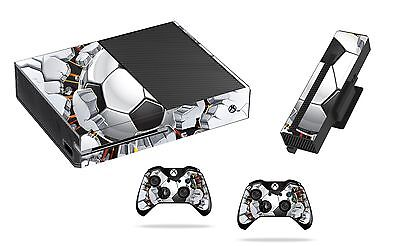 Football Wall Sticker/Skin xbox one Console,Kinect & Remote controllers, x1sk16