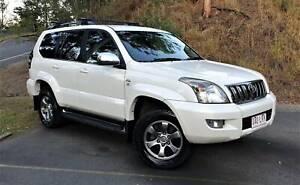 2008 Toyota Landcruiser Prado VX, Auto!! Everton Hills Brisbane North West Preview