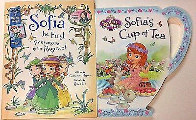 PRINCESSES TO THE RESCUE & SOFIA'S CUP OF TEA~ SOFIA THE FIRST~DISNEY~