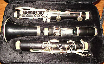 Clarinet Bb Buffet Crampon pre R13 France Professional (new pads and corks)