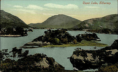 Killarney Cill Airne Irland Éire Ireland ~1920/30 Landschaft Upper Lake See Hill