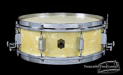 Leedy 1930s  Broadway Parallel Model Vintage Snare Drum : 5 x 14 :  WMP