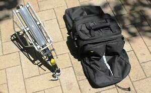 Topeak MTX Quick Release Trunk Bag inc Beam Rack & Side Frames