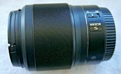 Nikon NIKKOR Z 50 mm f1.8 S Lens - Black, usado segunda mano  Embacar hacia Mexico
