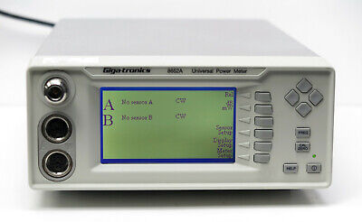 Giga-tronics Spanawave 8652a Dual Channel Power Meter Opt. 12