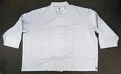 Dickies Chef Coat 5XL CW070304C Cloth Knot Button White Uniform Unisex New