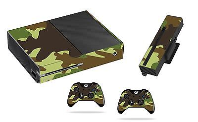 Army Sticker/Skin xbox one Console,Kinect & Remote controllers, x1sk6