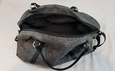 Womens Gray Abercrombie & Fitch Weekender Duffle Bag, Model 1101530 for sale  Marietta