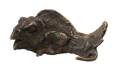 Pendant Fish Ashanti Art African Tribale Door Keys Bronze Ethnic 26185