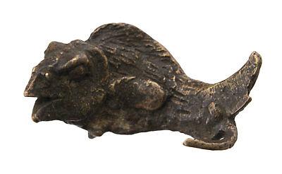 Pendant Fish Ashanti Art African tribale Keychain Bronze ethnic 26185