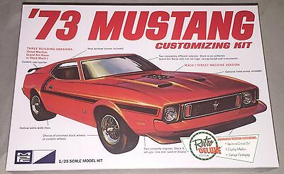 MPC '73 Ford Mustang 1/25 scale plastic model car kit new 846