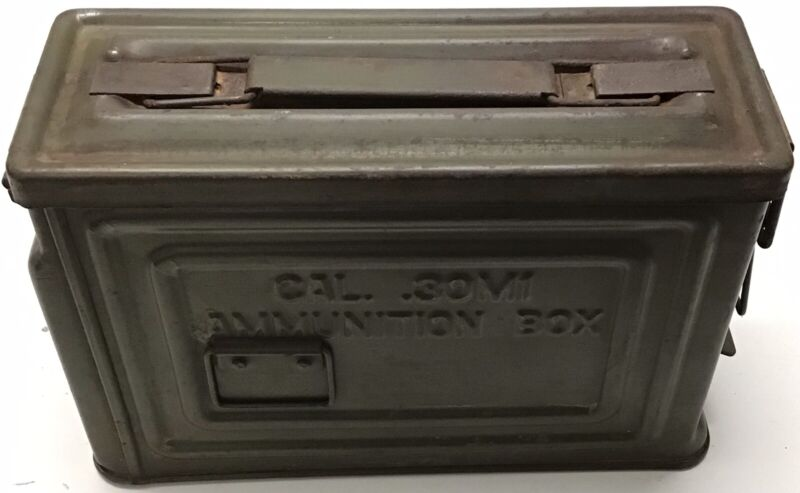 WW2 1919 Aircooled 30 Cal. Ammo Can