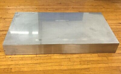 41x22 Stainless Steel Cutting Board 5 Riser Work Prep Table Chopping Block