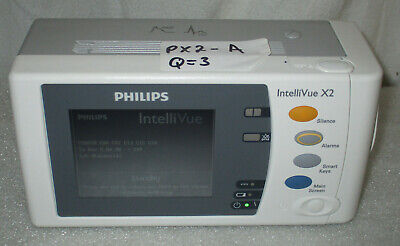Philips Intellivue Intelli Vue X2 Vital Sign Patient Monitor M3002a