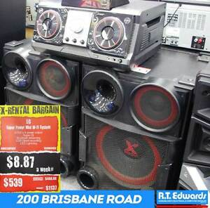 LG SUPER POWER HiFi System Model - CM9730PACK Booval Ipswich City Preview