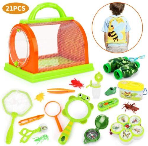 BeebeeRun Outdoor Explorer Set-Bug Catcher Kit Educational Toy For Boys Girls