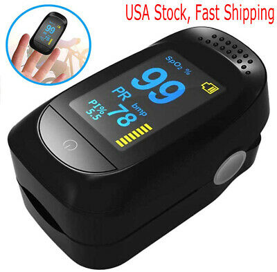 Ce Finger Pulse Oximeter Blood Oxygen Spo2 Monitor Pr Pi Respiratory Rate Fda Ce
