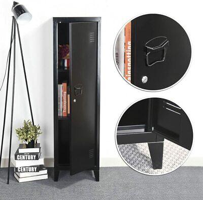 Metal Cabinet Storage Locker Rustic Home Decor For School Bedroom Office Living