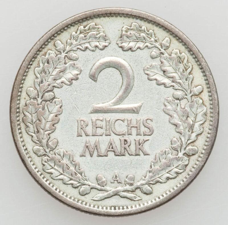 1926-A Germany Silver 2 Mark