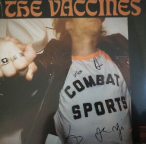 The Vaccines Combat Sports Vinyl LP Limited Signed Copy New 2018