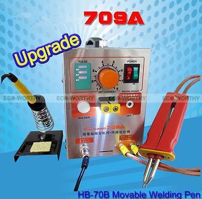 709a 2 In 1 1.9kw 60a Battery Spot Welder Mobile Welding Pen Soldering Iron