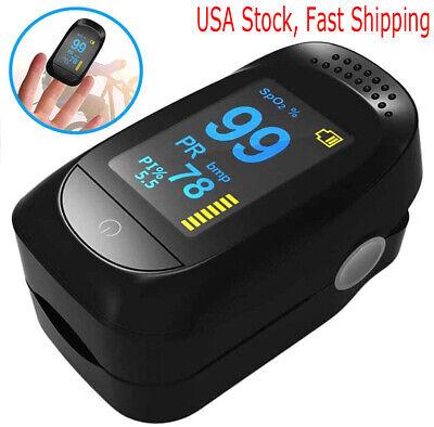 Oled Oximeter Pulse Finger Tip Ossimetro Spo2 Pr Pi Rr Heart Rate Monitor Ce Fda