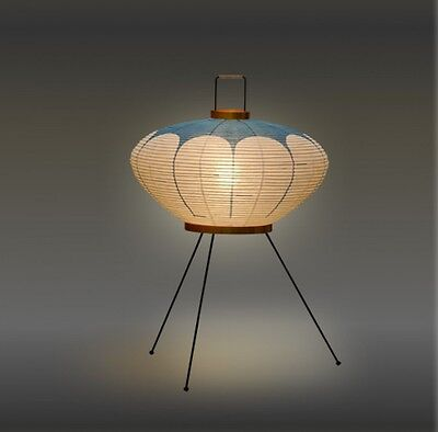 Isamu Noguchi AKARI Lantern 9AD Floor Stand Lamps Handcraft Authentic