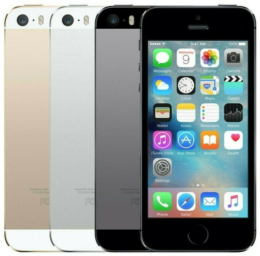 3 von 6 : Apple iPhone 5S - Unlocked - 16GB 32GB 64GB - Gold Gray Silver - Smartphone • 70,66 €