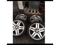 "Vw golf mk4/bora highline 17"" Alloy wheels"
