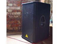 Behringer DJ passive speaker for sale 2400w