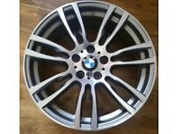 "GENUINE BMW 403M FRONT ALLOY WHEEL 19"" MINT CONDITION 403 ALLOYS"