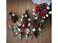 Artificial flowers bridal bridesmaid
