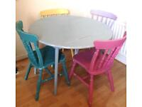Shabby Chic kitchen table & chairs