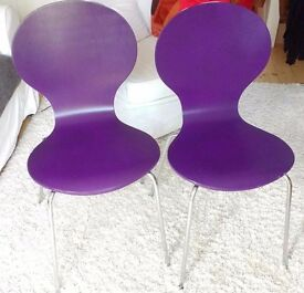 Chairs purple
