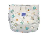 Award Winning Bambino Mio Reusable Nappy One-Size from newborn to potty-training (new items))