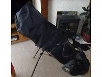 Izzo Golf Bag incl Clubs.