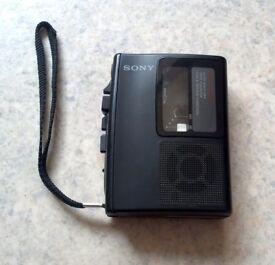 Sony TCM-S65 Vintage Personal Cassette Recorder