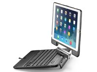 Airbender iPad Air Keyboard Case Rotatable Lid like Laptop Wireless Bluetooth Smart Keyboard Apple 2