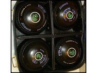 Almark Slimline Stirling Lawn Bowls and bag