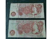 Banknote's x 2