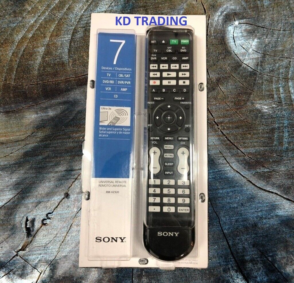 Sony RM-VZ320 Universal Remote Control -