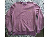 Lyle & Scott Jumper in Purple Size M - £15