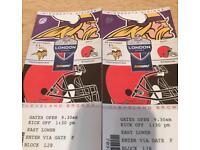 NFL London: Twickenham 29th Oct :Lower Tier