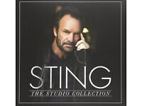 STING - THE STUDIO COLLECTION ; Limited Edition 11-LP Box Set ; New and Sealed