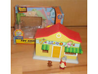 Bob the Builder Toy Shop Playset + Extra Figurines